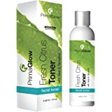 Fresh Citrus Face Toner with Aloe Vera Formula & Tamarind, Alcohol Free Astringent, Anti Aging Ingredients, All Skin Types, Oily, Normal to Dry, Skin Care for Women & Men