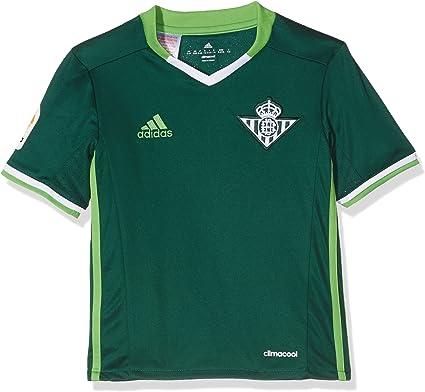 adidas 2ª Equipación Betis FC Camiseta, Hombre: Amazon.es: Ropa y accesorios