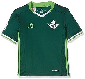 adidas 2ª Equipación Betis FC Camiseta, Hombre: Amazon.es: Deportes y aire libre