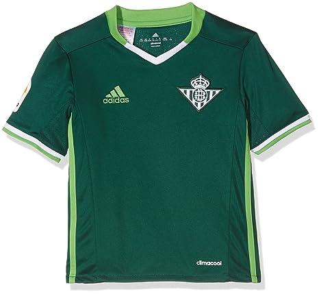 adidas 2ª Equipación Betis FC Camiseta, Hombre, Verde, 128