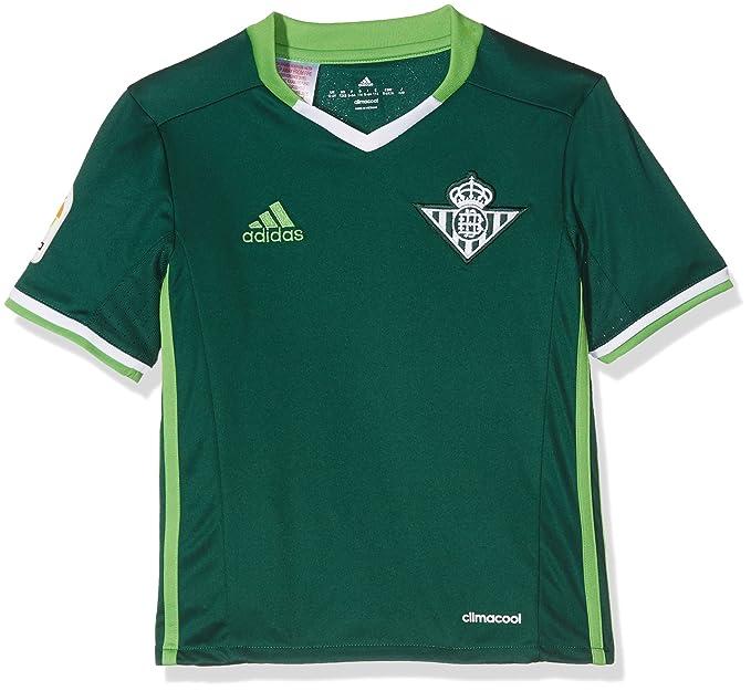 adidas 2ª Equipación Betis FC Camiseta, Hombre: Amazon.es: Ropa y ...