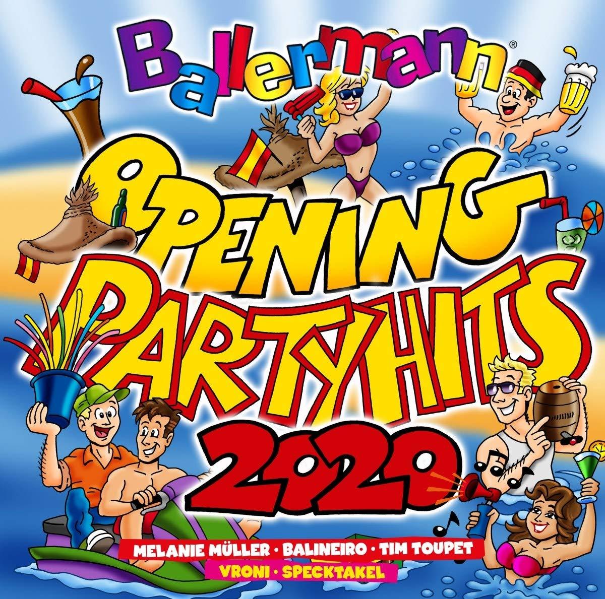 CD Ballermann Opening Megamix 2020