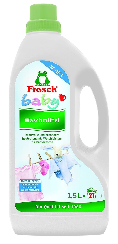 Frosch - Detergente Rana Baby, 1 unidad (21 Lavados): Amazon.es: Salud y cuidado personal