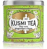 Kusmi Tea - Thé vert gingembre-citron - Boîte métal 250g