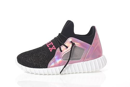 PYREX Scarpe donna sneaker glitter running mesh py6000 40