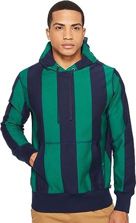 15e9305e7 Amazon.com: HUF Men's Pohm Pullover Hoodie Navy/Green Sweatshirt ...