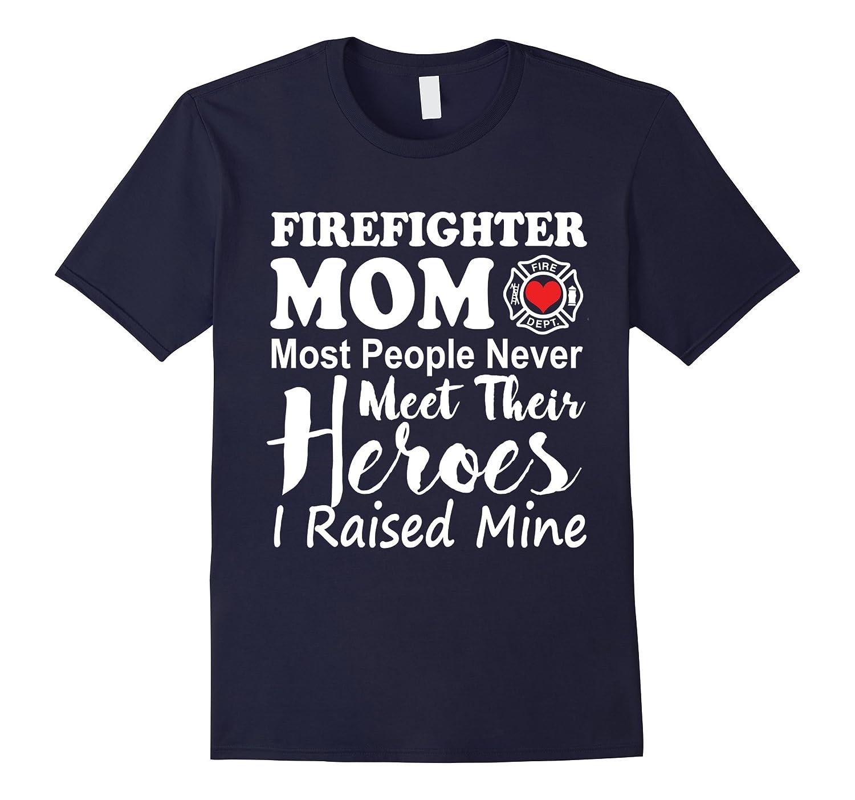 Firefighter Mom T-Shirt-T-Shirt