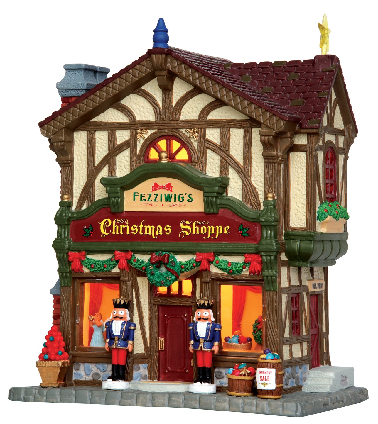 Lemax Village Collection Fezziwig's Christmas Shoppe #45742