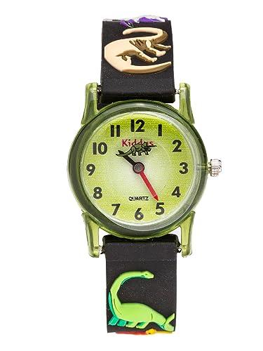 2d64c66b0181c KIDDUS Reloj Infantil Niño Educativo Analógico Cuarzo Correa Goma. RE0259   Amazon.es  Relojes
