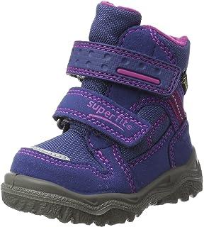 Zapatos lila Superfit Husky infantiles