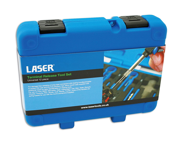 Laser 4323 Universal Terminal Tool Kit Set Of 12 Car Vw Connectors Motorbike