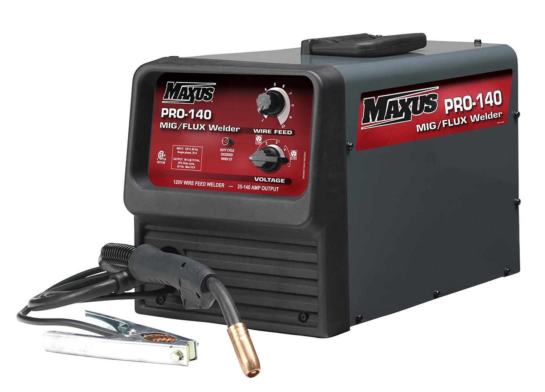 Maxus MXW30901AV Pro-140 120 Volt 140 Amp Max Output Mig/Flux Core ...