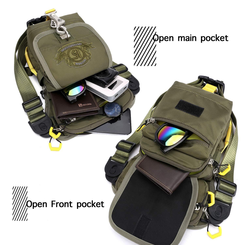 Waterproof Drop Leg Bag Street Style Cycling Waist Fanny Pack for Men Women Traveling Bum Bag