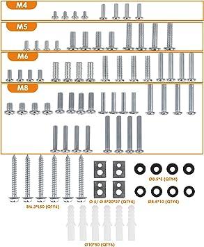 SIMBR - Kit de montaje universal para televisores (compatible con ...