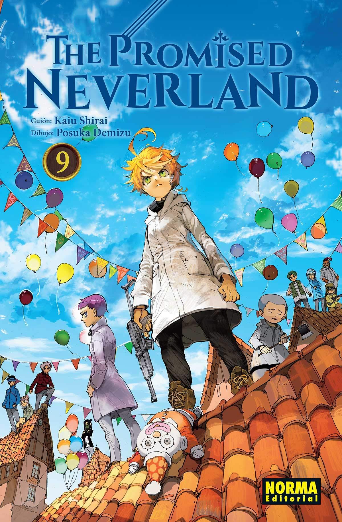 The Promised Neverland 9: Amazon.es: Kaiu Shirai, Posuka ...