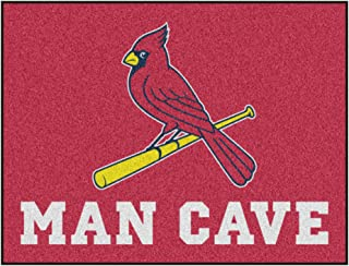 """product image for FANMATS MLB - St. Louis Cardinals Man Cave All-Star 33.75""""x42.5"""", One Size"""