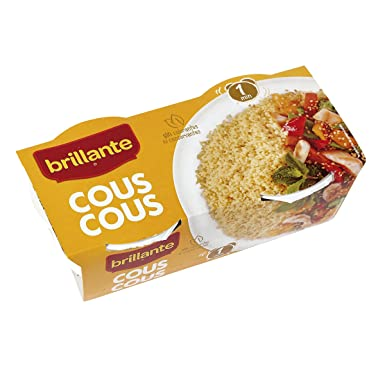 Brillante Vasito Cous Cous - Paquete de 2 x 125 gr - Total ...