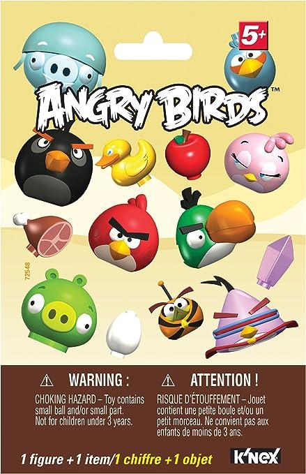 Angry Birds K /'NEX Red Bird vs petit Minion Pig Building Set
