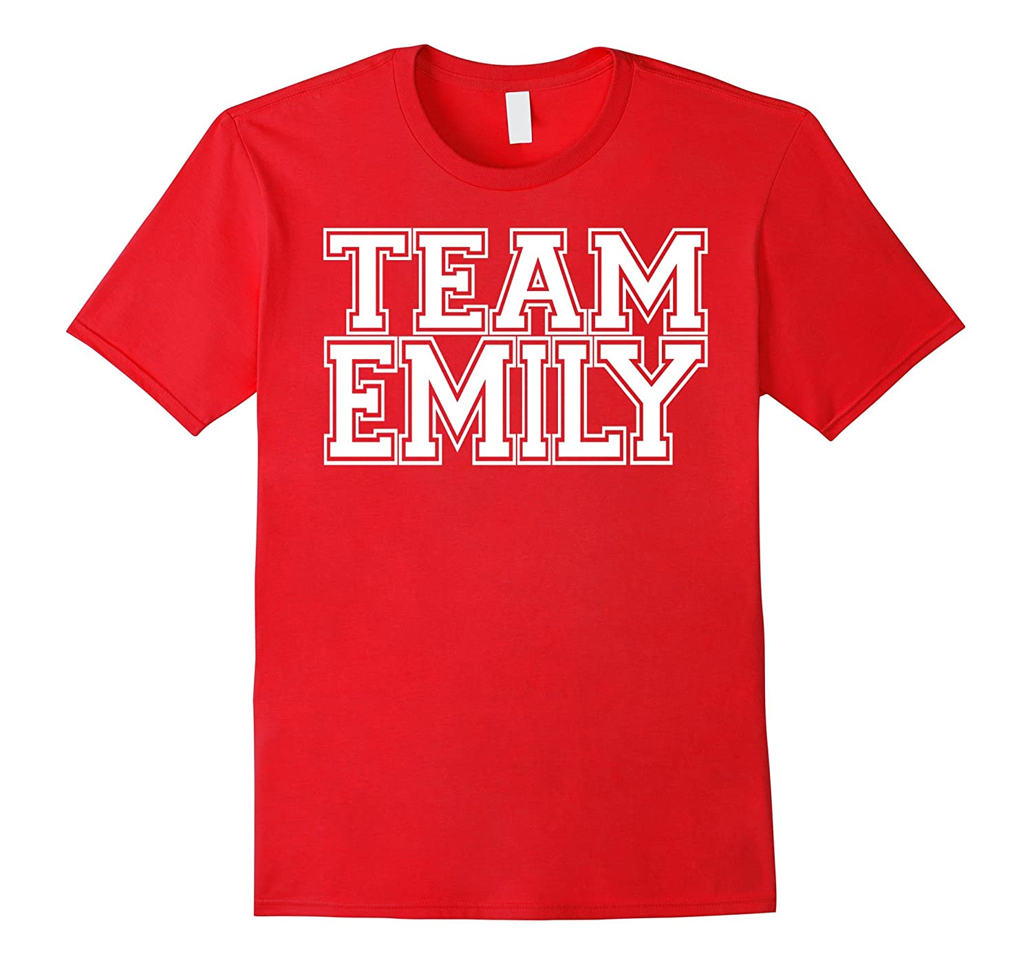 TEAM EMILY Personalized Family Jersey T-Shirt for Support-ANZ