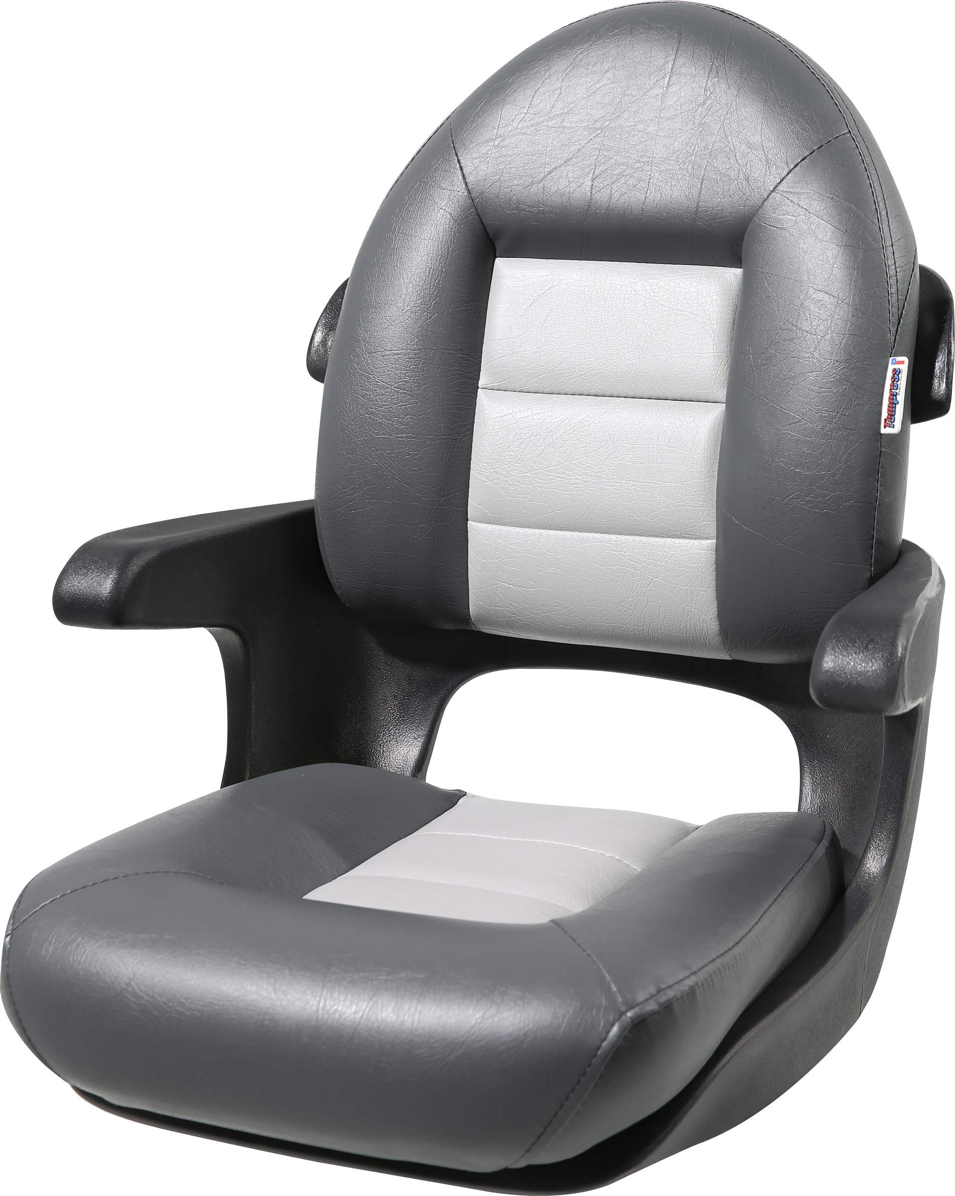 Tempress Elite High Back Helm Seat, Charcoal/Gray by Tempress