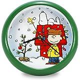 Mark Feldstein /& Associates Let it Snow Lisa Kennedy Penny Lane Holiday Clock PL8LIS 8 8 Inc
