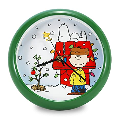 Amazon.com: Mark Feldstein pnxd8 Peanuts Holiday perro Reloj ...