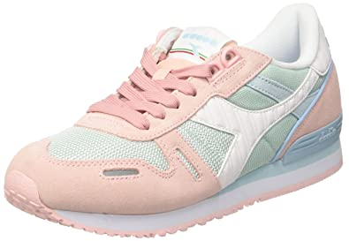 Neck co W Ii Shoes Amazon uk Sneaker Diadora Bags Women's Titan Low amp; fq118Yn