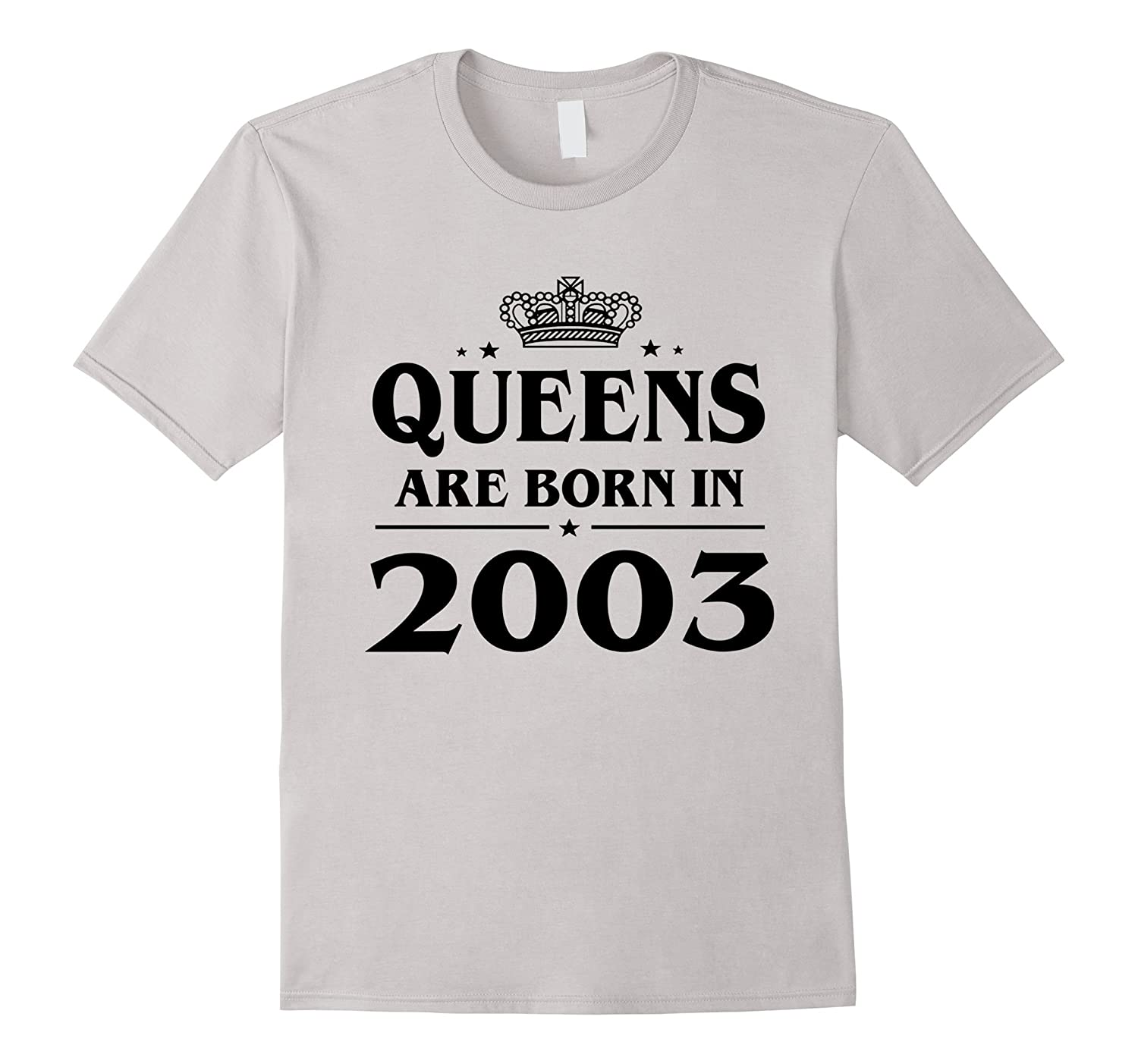 Queens Are Born In 2003 14 Year Old 14th Birthday Gift Idea TH