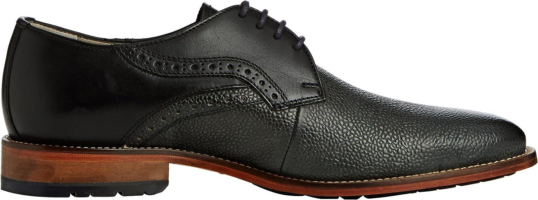 Clarks Penton Walk, Derbies à Lacets Homme Noir Black Leather