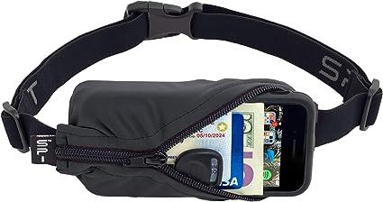 Expandable Pocket Belt Running Storage Belt Money Valubles Belt Double Pocket