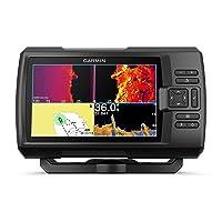 Garmin Striker Vivid 7sv, Easy-to-Use 7-inch Color Fishfinder and Sonar Transducer, Vivid Scanning Sonar Color Palettes (010-02553-00)