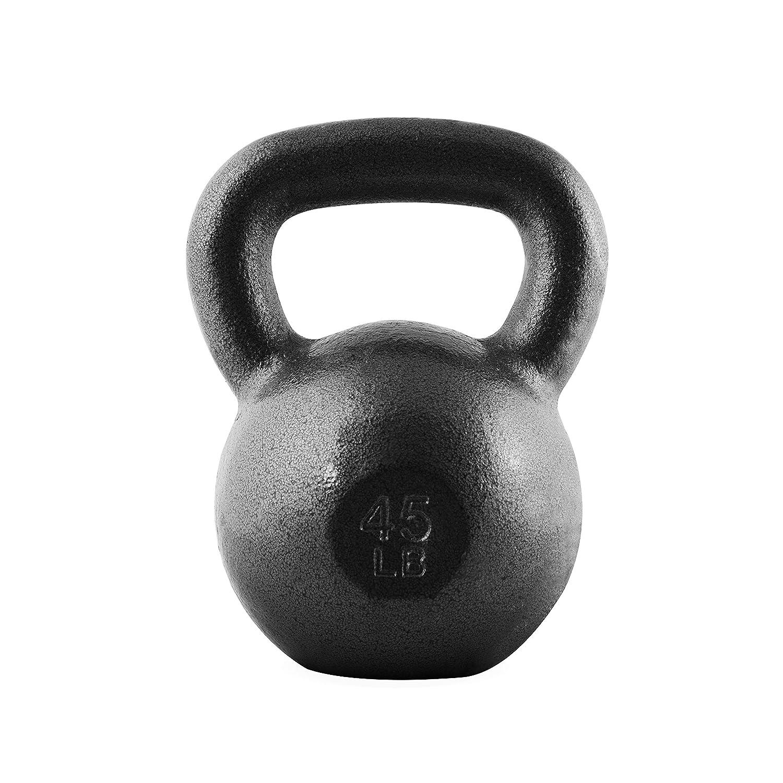 CAP Barbell Cast Iron Kettlebell 20 lb Black Inc SDK2B-020