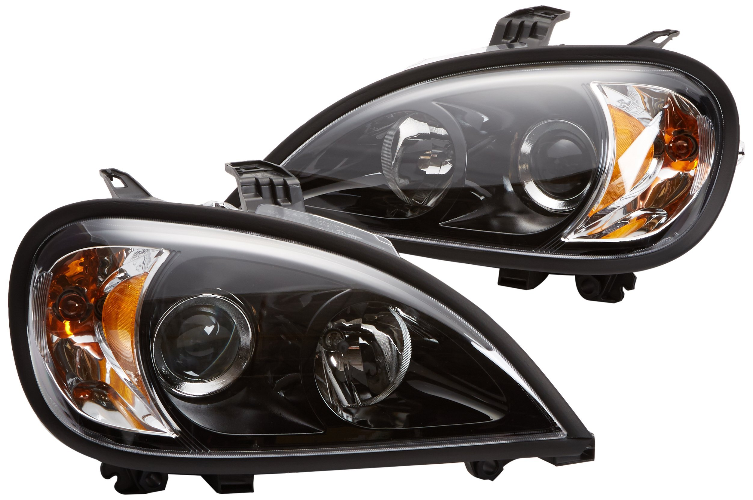 Depo 340-1104P-ASN2 Freightliner Columbia Driver/Passenger Side Replacement Headlight Assembly
