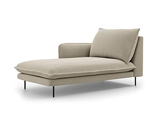 Cosmopolitan Design - Tumbona Izquierda, 1 Plaza, Beige, 170 ...