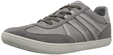 Sportliche Schnürschuhe Geox Schuhe Halver Halbschuhe GrauAmazon eWI29EYDH