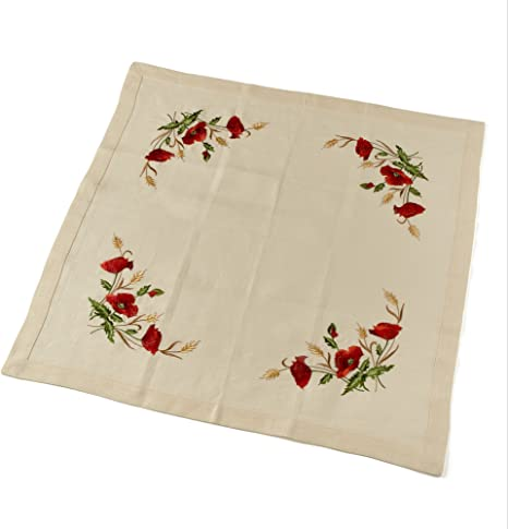 Table Cloth Small Table Cloth Dinner Table Cloth Tablecloths Linens Tablecloth#1483 Embroidered Flower Tablecloth Square Table Cloth