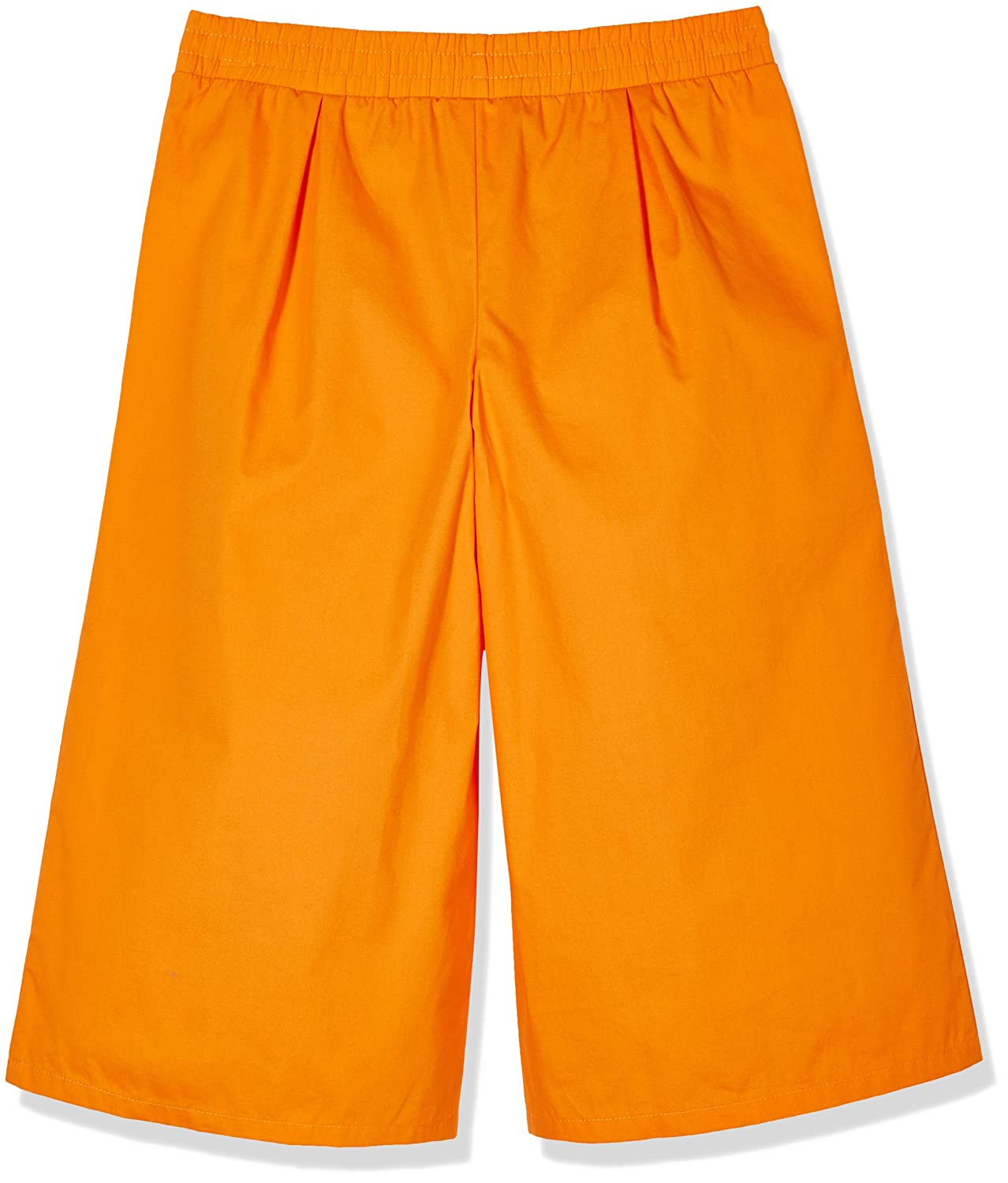 A for Awesome Girls 3//4 Length Wide Leg Cropped Pants with Pockets