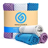 """Cooling Towel, Lightweight Microfiber Towel, Neck Cooling Wraps, Wet Towels for Sports and Hot Environments, 12"""" X 39"""", 3-Pac"""