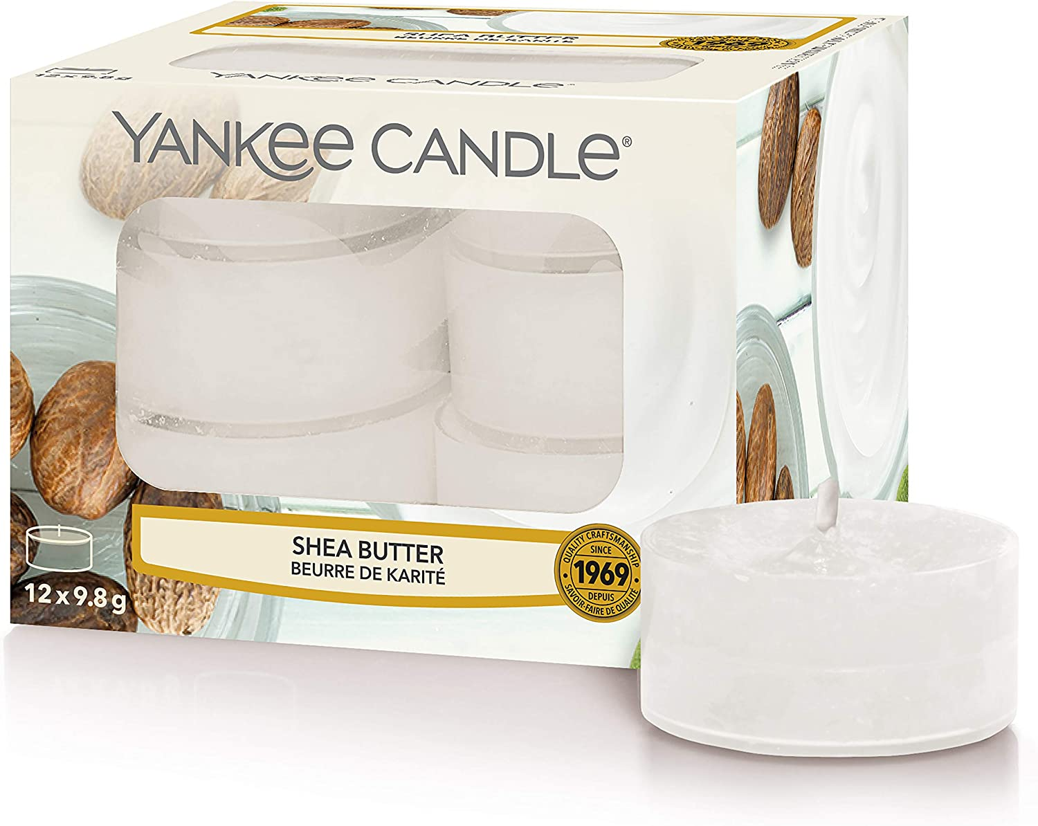 12er-Packung Yankee Candle Duft-Teelichte Angels Wings