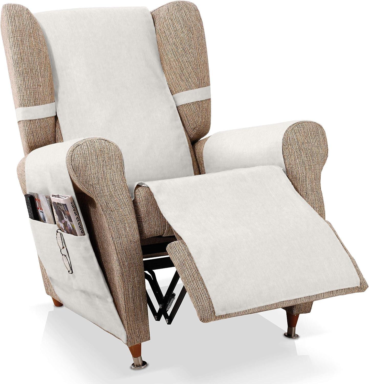 sillón Relax Larissa, Marfil, 1