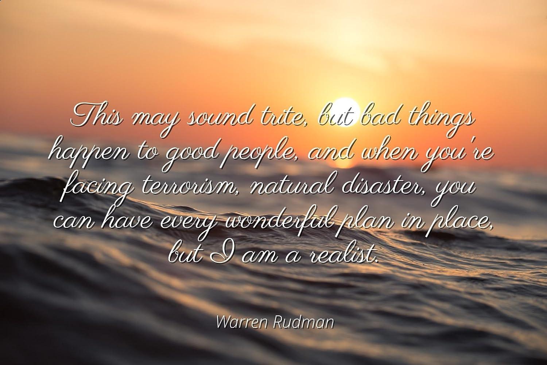 Amazon Warren Rudman Famous Quotes Laminated Poster Print