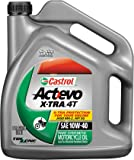 Castrol 10W40 Actevo X-tra 4T Motorcycle Oil - 1 Gallon 3166
