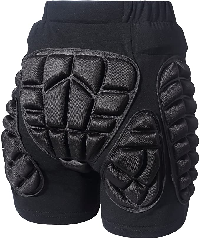 Soared 3D Protection Hip Butt EVA Padded Short Pants