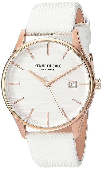 Kenneth Cole KC15109002 - Reloj de pulsera Mujer, color Blanco
