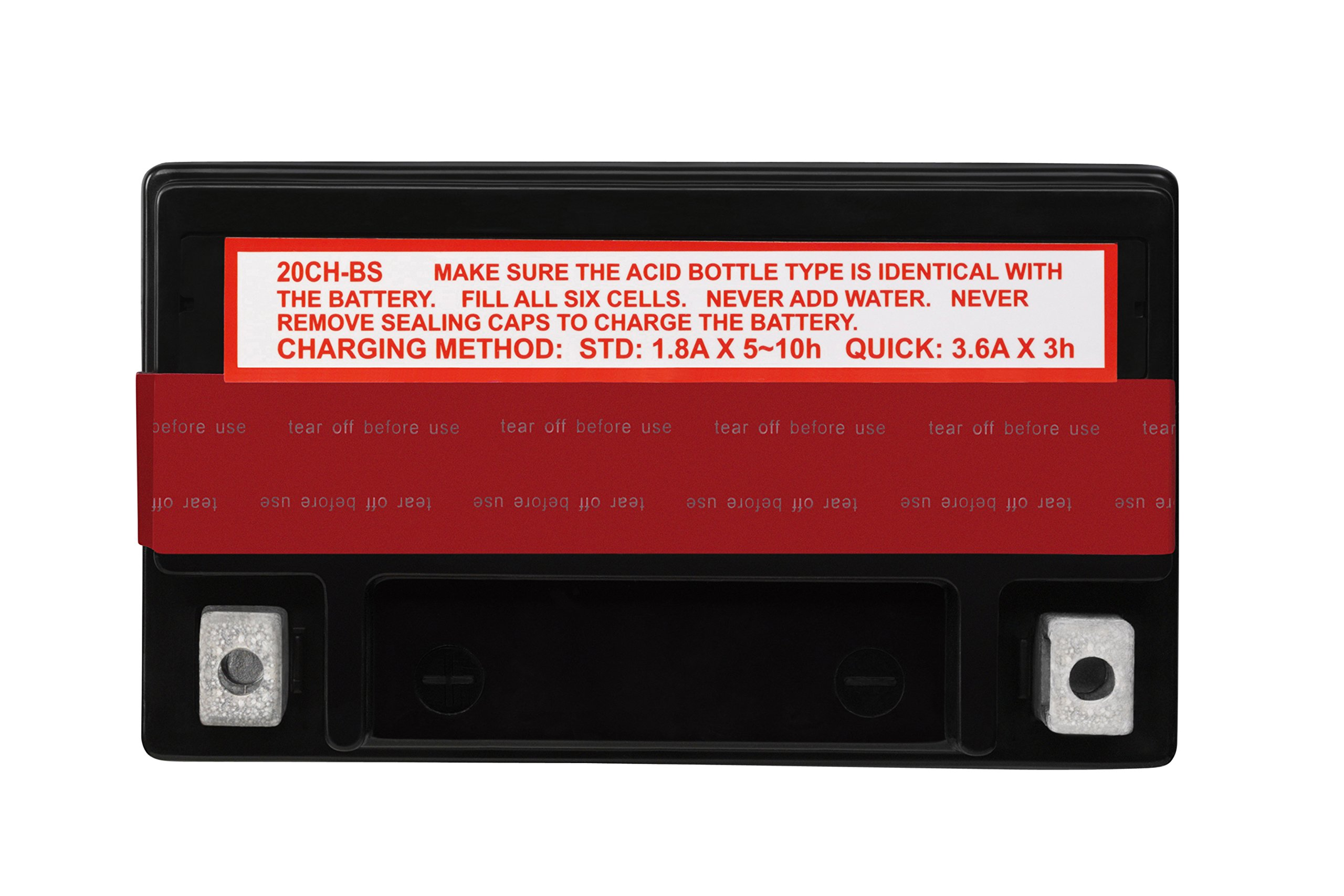 ACDelco ATX20CHBS Specialty AGM Powersports JIS 20CH-BS Battery by ACDelco (Image #4)