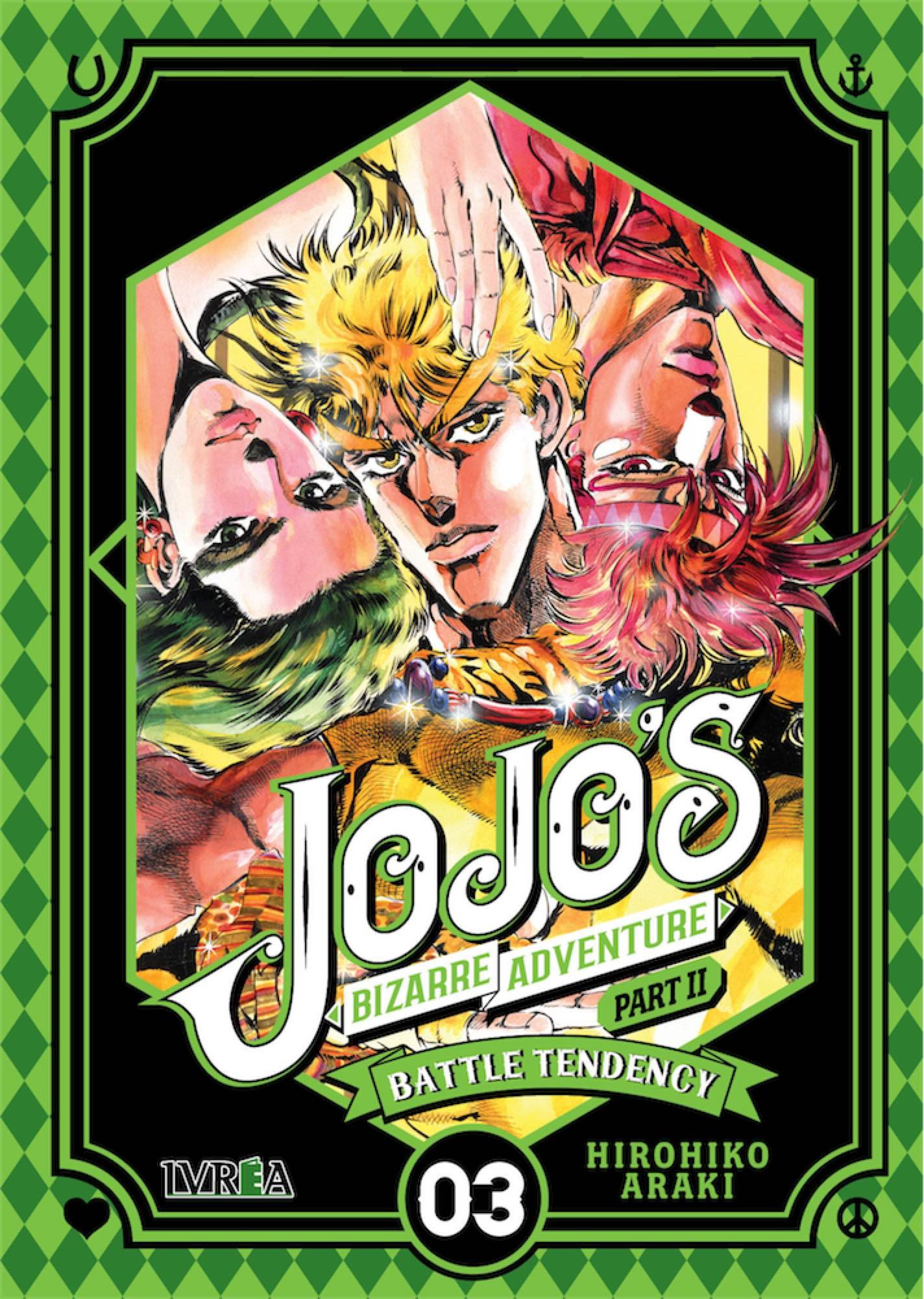 Jojos Bizarre Adventure Parte 1: Battle Tendency 3: 6: Amazon.es: Hirohiko Araki, Pablo Tschopp: Libros