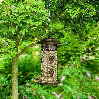 Caged Bird Fountain Feeder SMALL FY035 TP