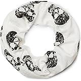 styleBREAKER sciarpa scaldacollo con stampa a teschio in look vintage destroyed, sciarpa, foulard, unisex 01017037