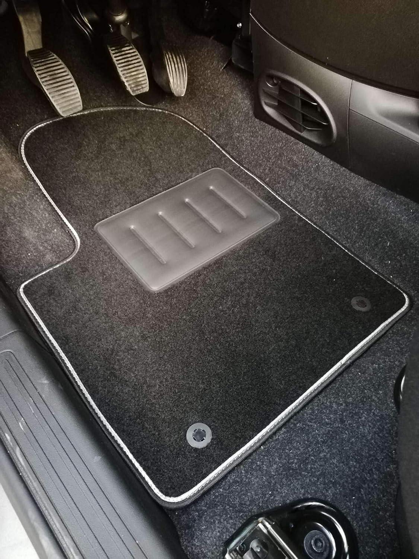 Iltappetoauto By Fabbri 3 Sprint00002 Maßgeschneiderte Fußmatten Für Auto Aus Schwarzem Rutschfestem Teppich Kompatibel Mit Fiat 500 Fiat 500c Auto