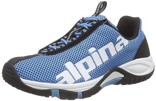 alpina680267 - Zapatillas de Trekking y Senderismo de Media caña Unisex Adulto, Color Azul, Talla 42 EU: Amazon.es: Zapatos y complementos